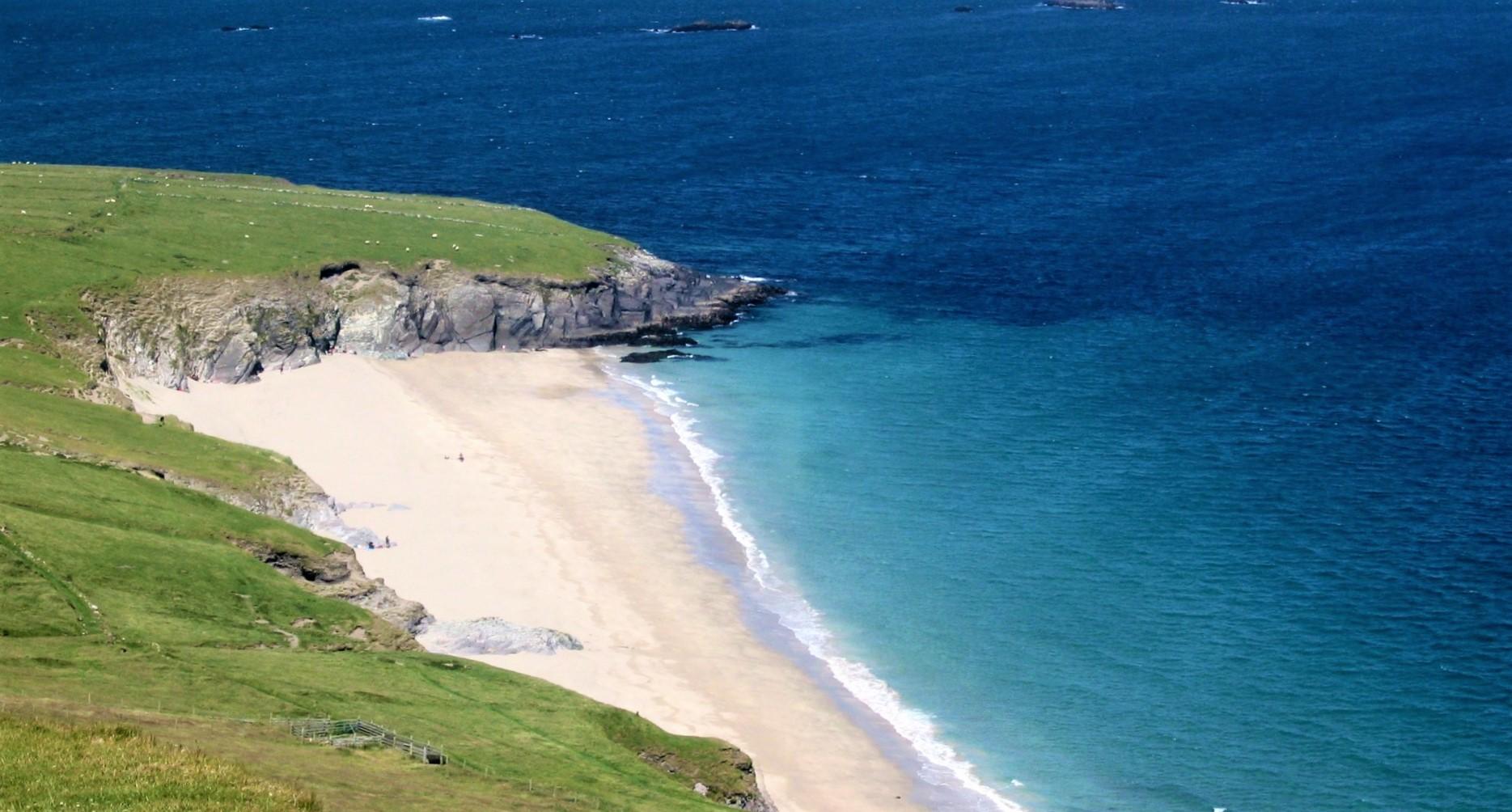 An tra ban Great Blasket Island Irish Island Getaways