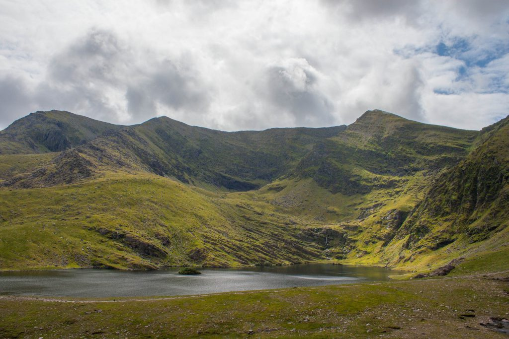 Carrauntoohil highest lake
