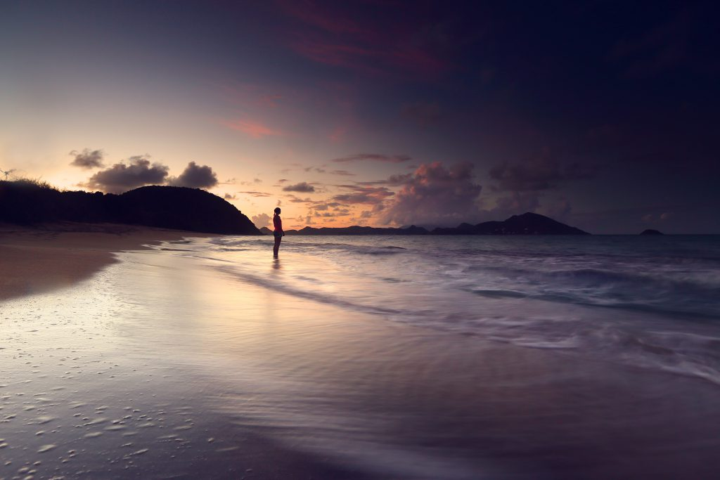 Winter sun destinations for adventure lovers Sunset on Lovers Beach Copyright James Appleton