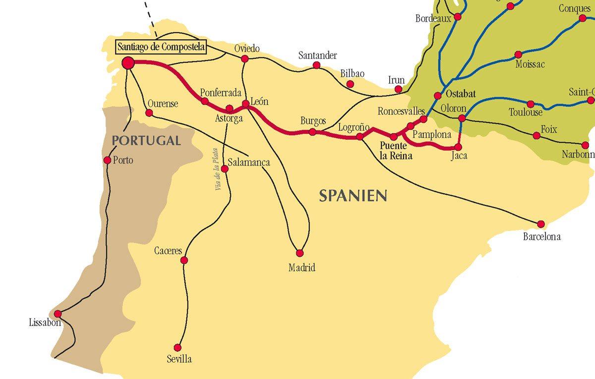 camino-de-santiago-routes
