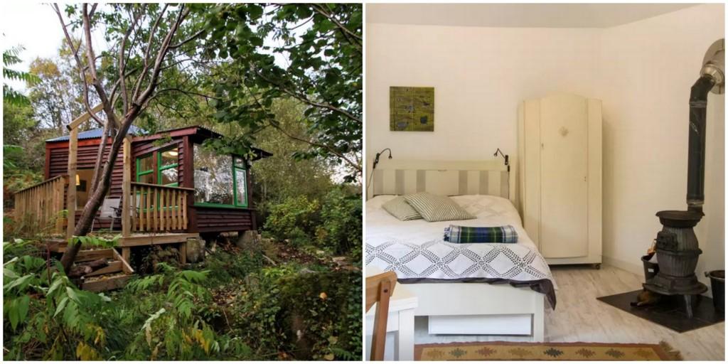 cookoos hexagon coolest airbnb ireland