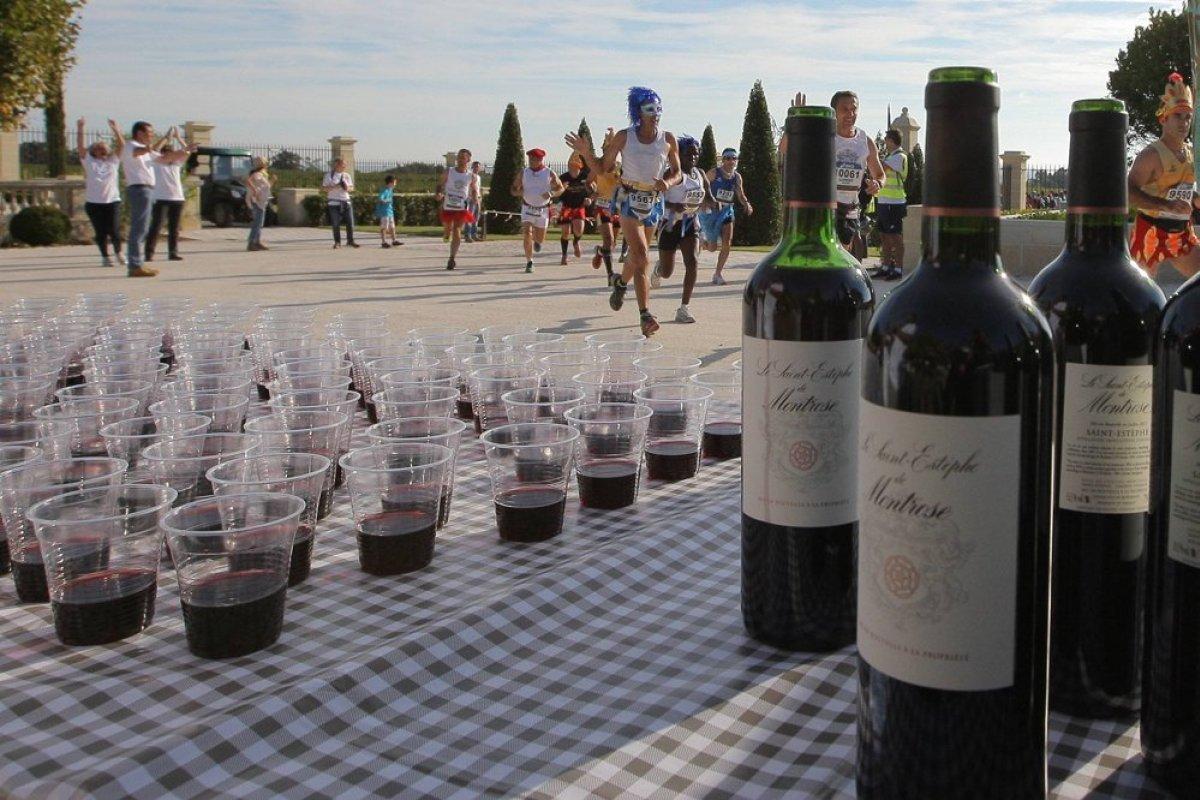 worlds quirkiest events medoc marathon