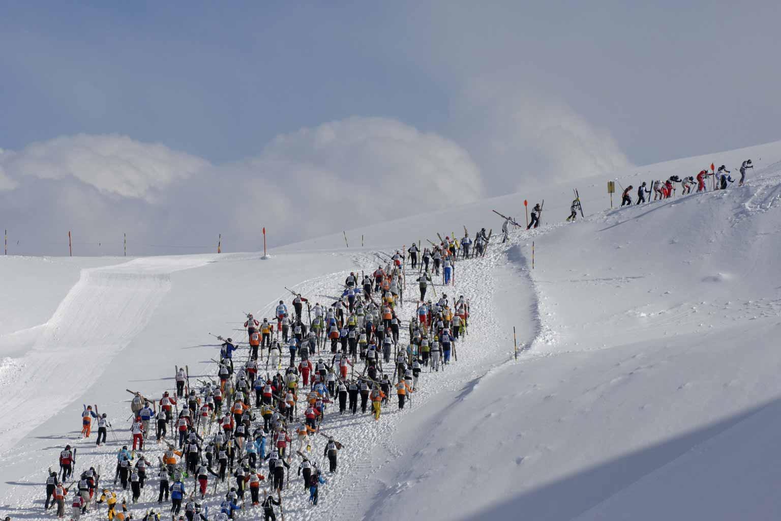 World Quirkiest Events White Thrill St Anton
