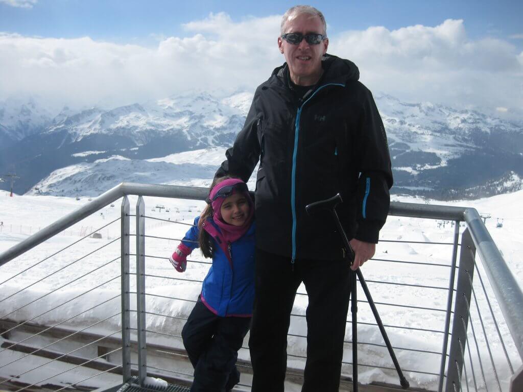 Jim Duffy adaptive skiing daughter