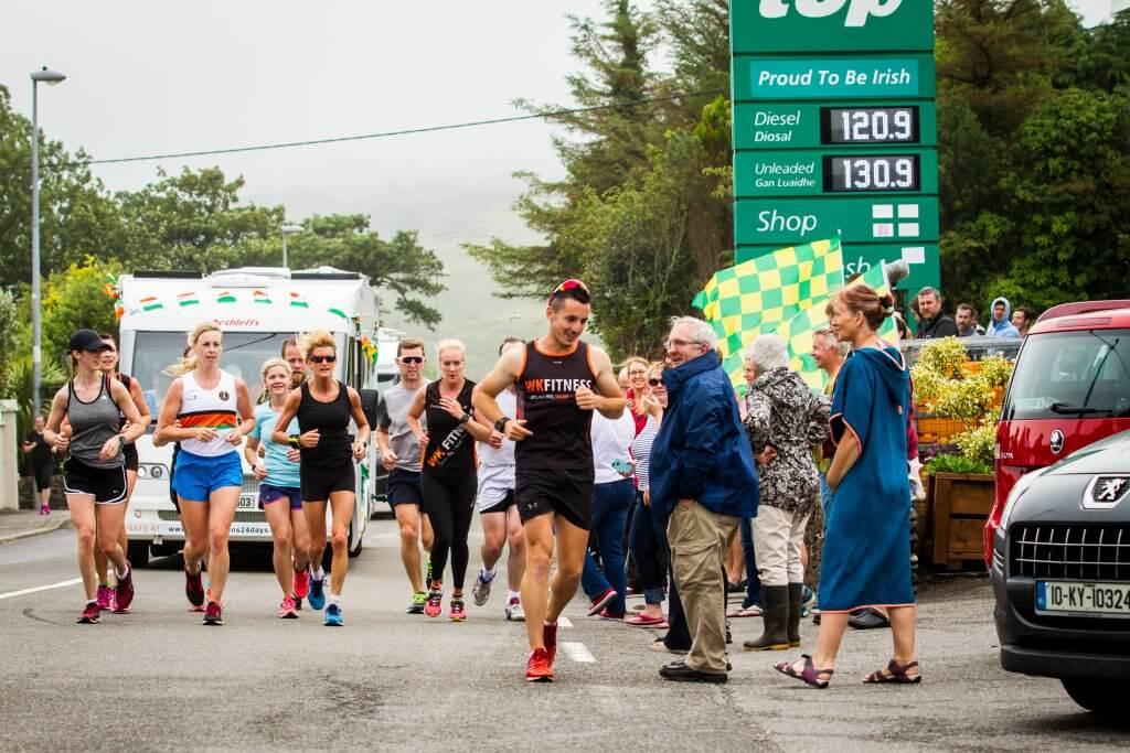 Shane Finn 24 marathons 24 days