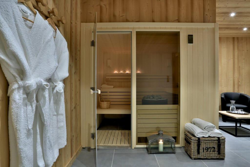 Sauna in Chalet Florin, Morzine
