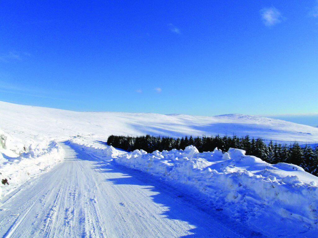 snowy activities ireland