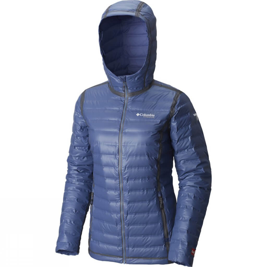 Gift ideas for hikers Columbia OUtdry Ex gold down jackets