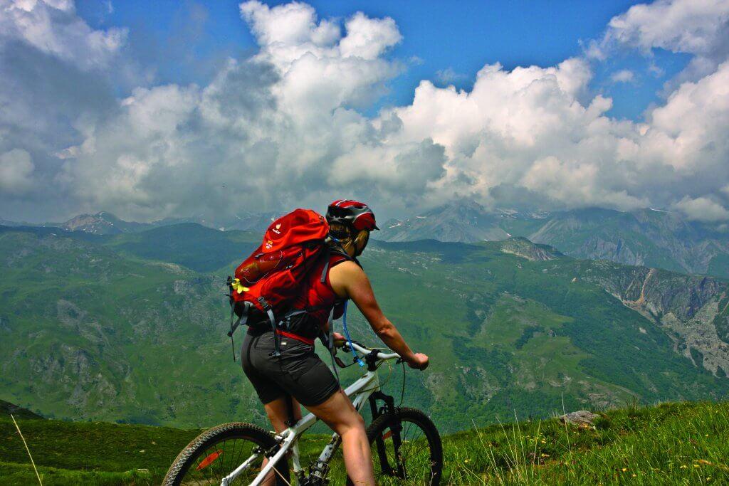 Mountain biking at Les Gets