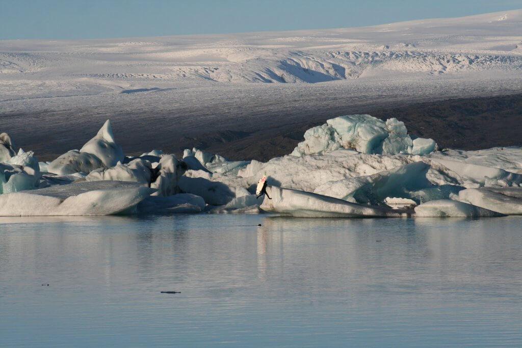 Ice Surf Iceland