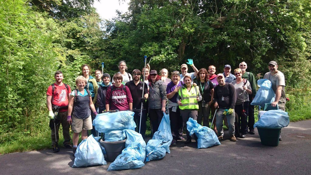 Royal canal clean up