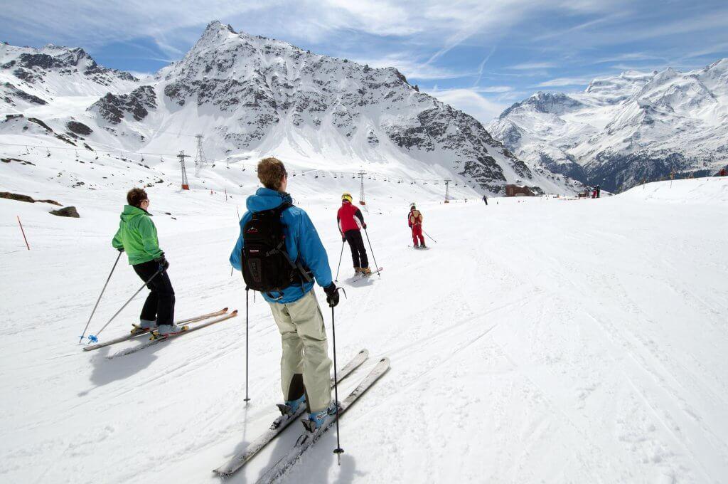 Ski Verbier_ La Chaux