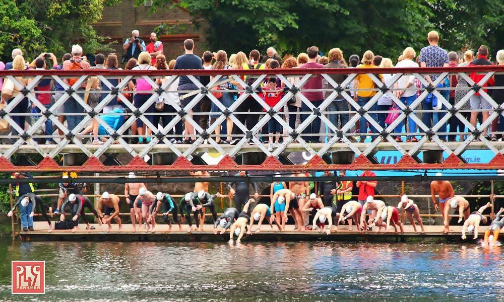 Open water swimming races