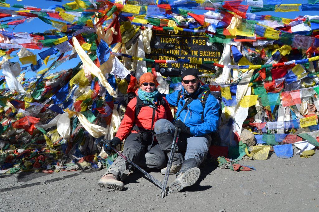 Thorung La, the world's highest pass