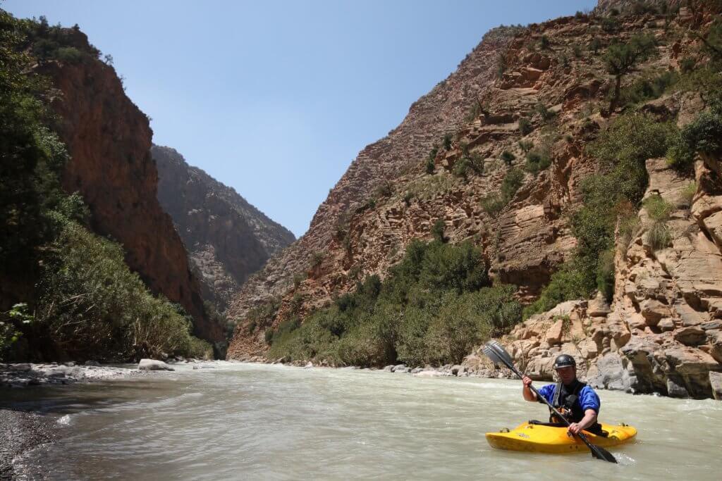 Kayaking in Morocco