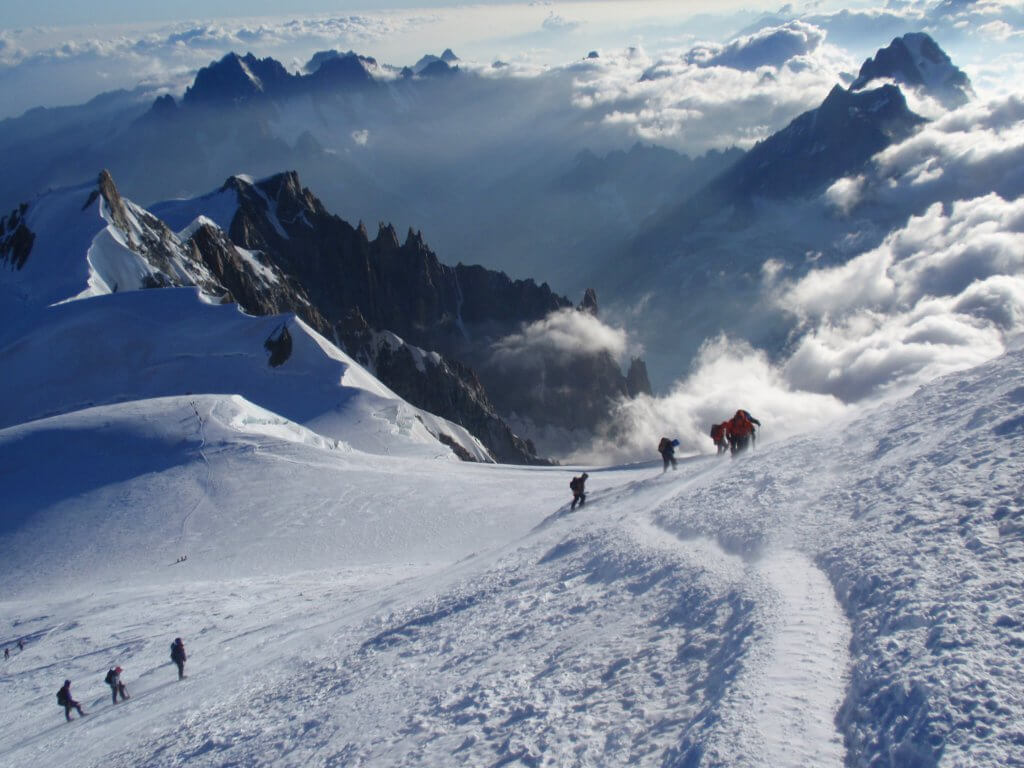 Mt Blanc summit climb