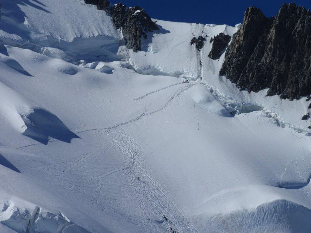 Climbing Mt Blanc