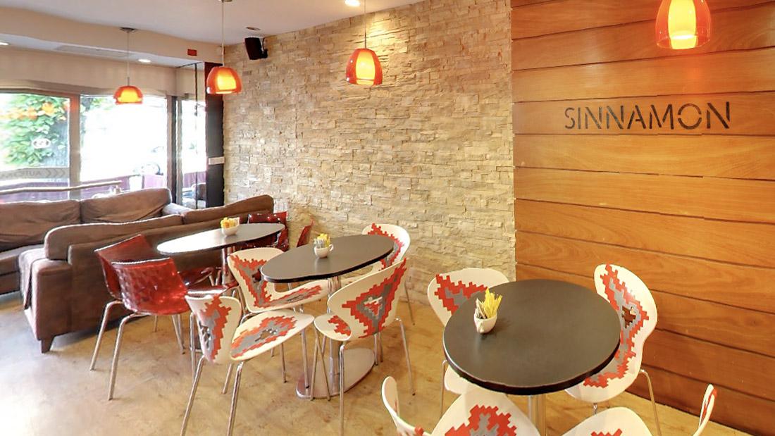 best coffee shop belfast Sinnamon