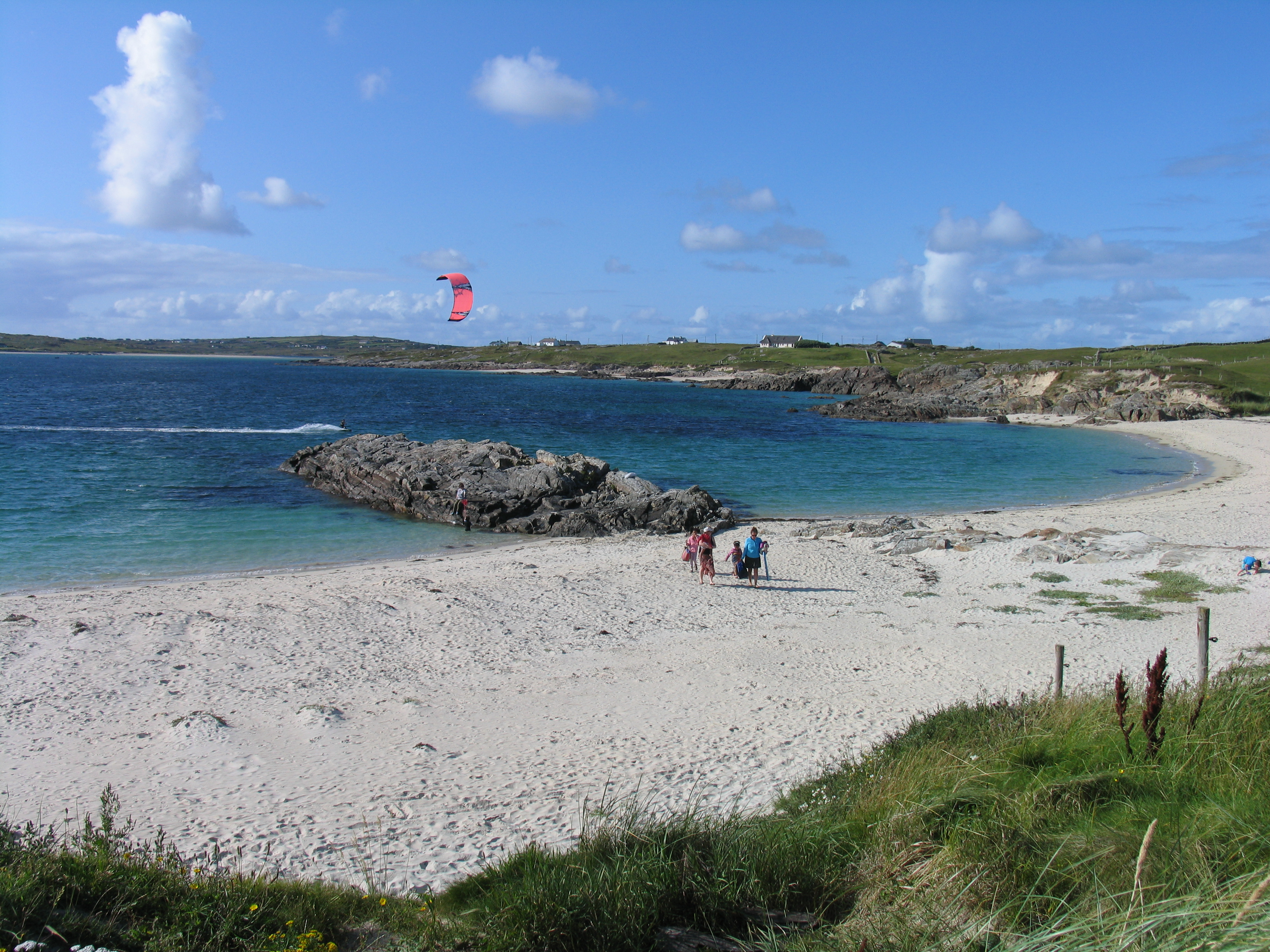 Best eco friendly campsites in Ireland Clifden Eco Beach Camping & Caravanning Park8