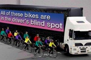 cycle safety bike-truck-blindspot