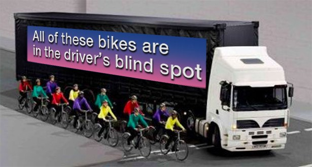 cycle safety bike-truck-blindspot