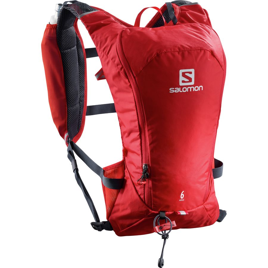 best running backpack salomon agile 6