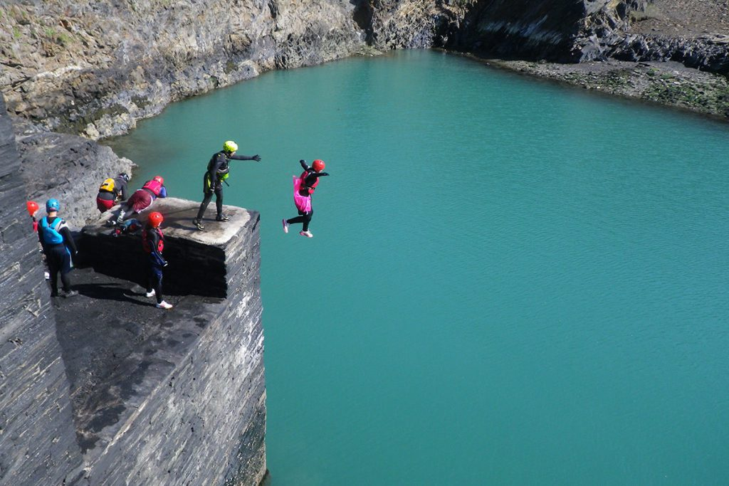 Activities wales coasteering gower peninsula wales