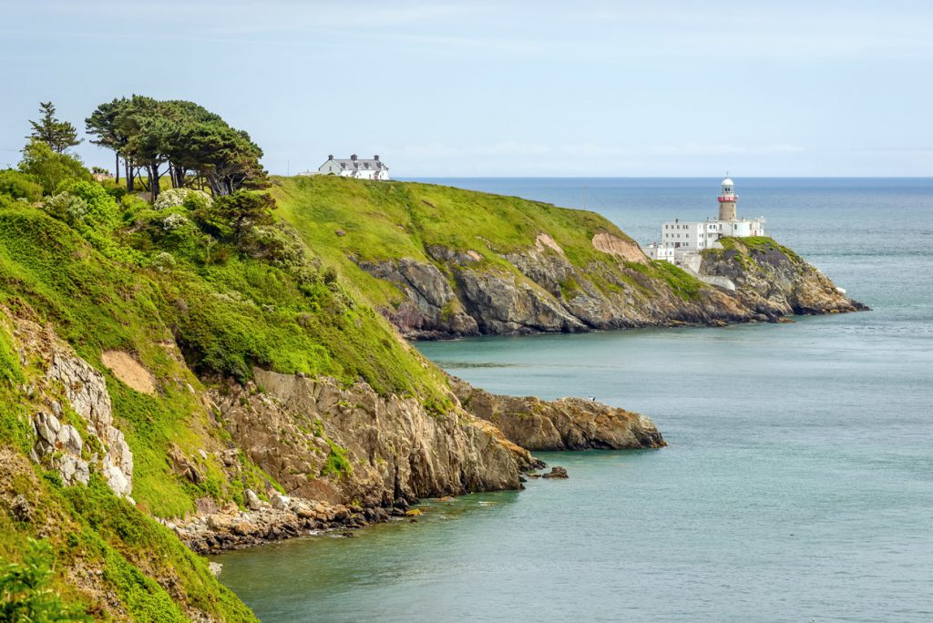Best irish hike for beginners Bailey Lighthouse, Howth
