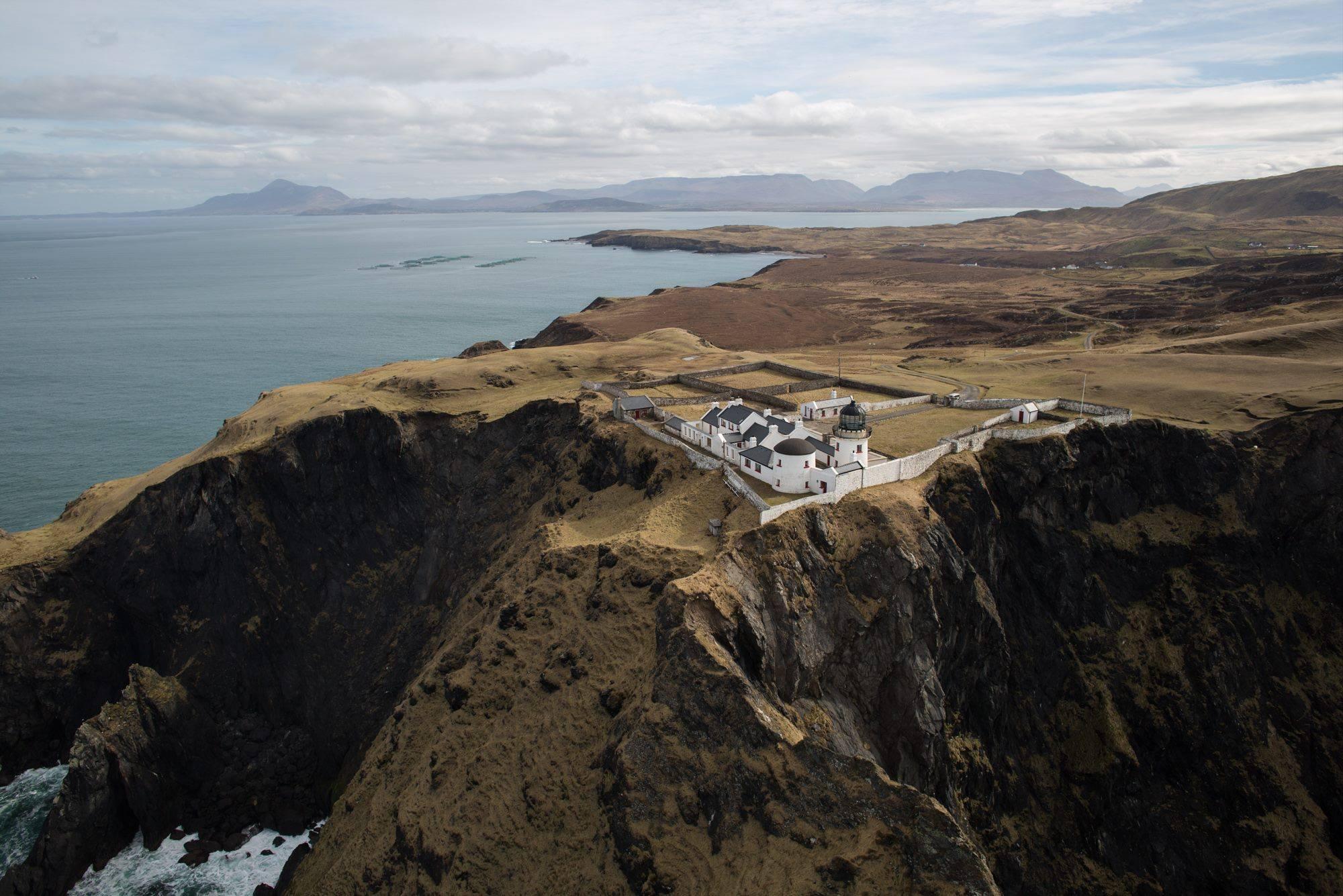 CLare Island Lighthouse Irish Island Getaways