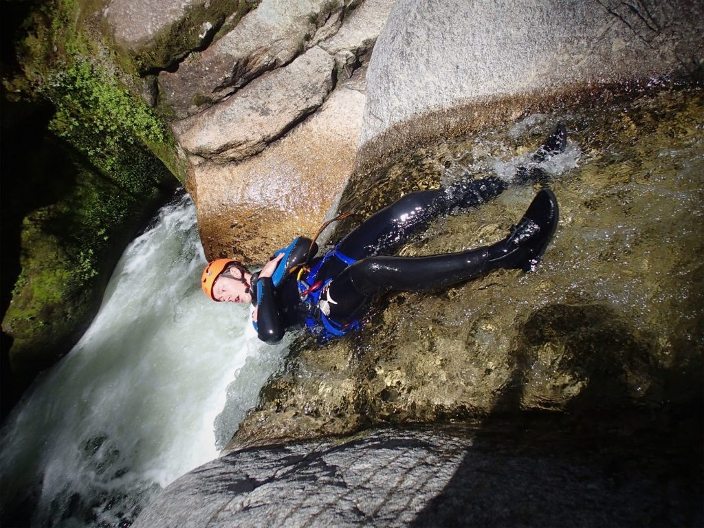 Adventure activities in Hong Kong Canyoning in the New Territories