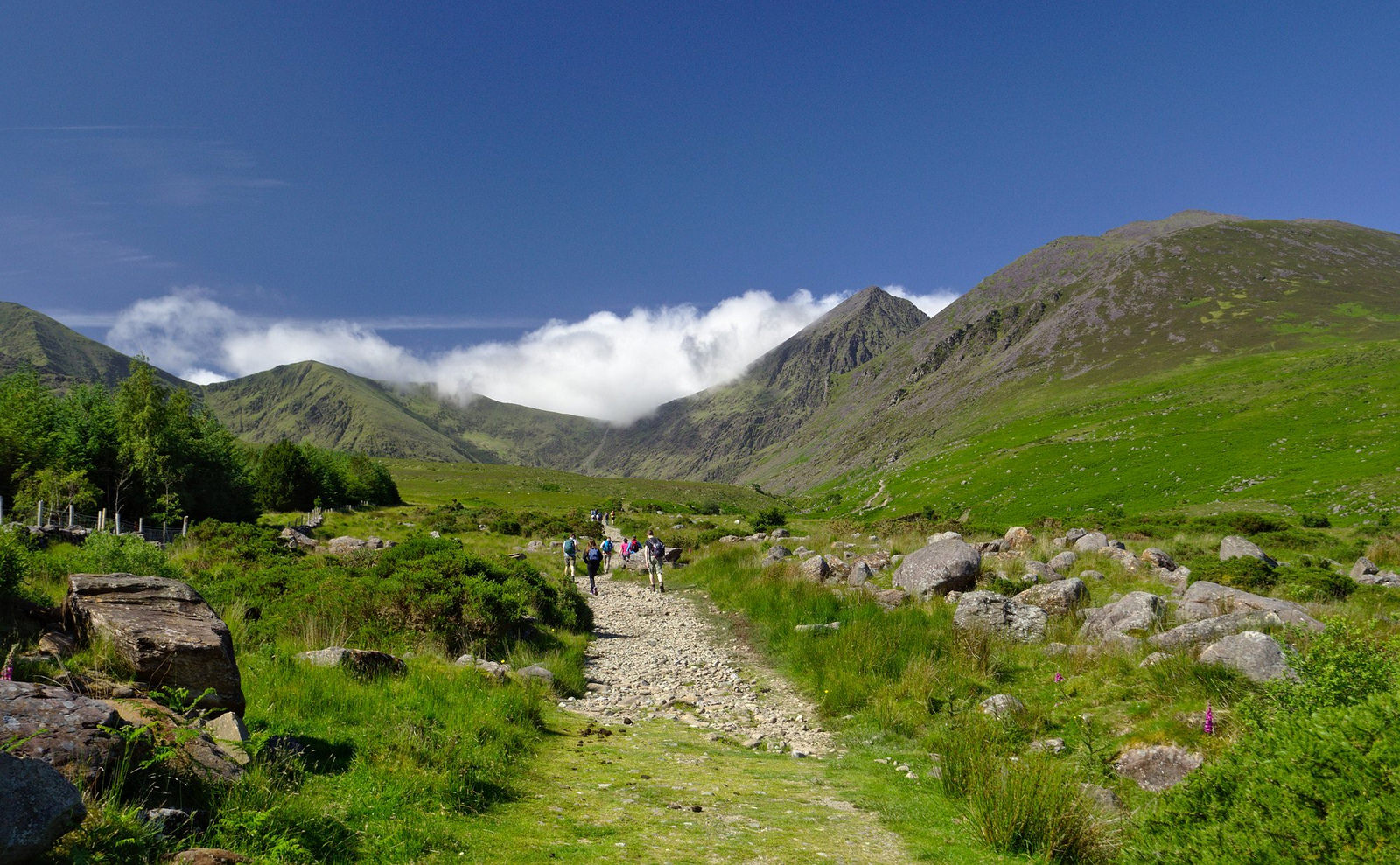 Carrauntoohil approach