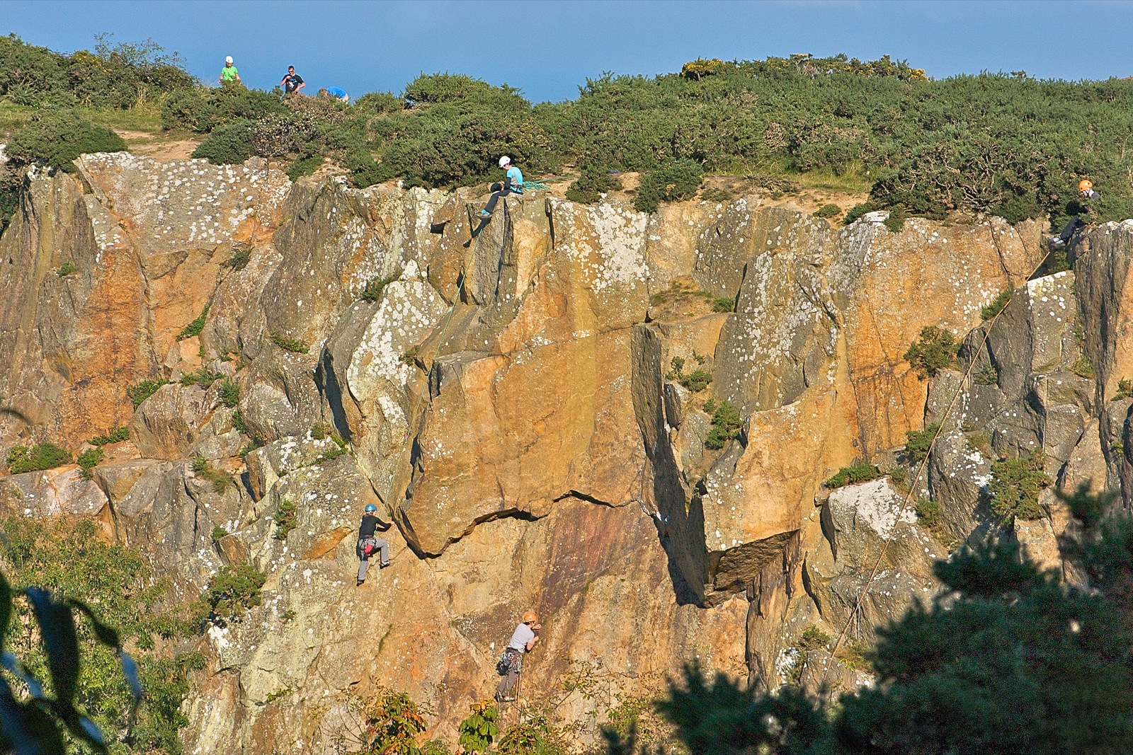 Things to do in Dublin Rock climbing in Dalkey Quarry