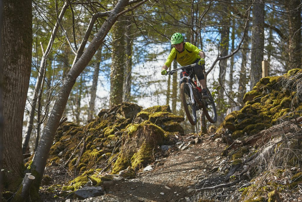 Mountain Biking in North Wales Marin Trail