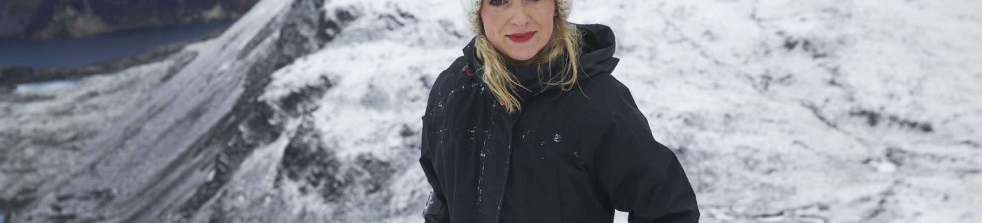 Nikki Bradley on Mt. Errigal