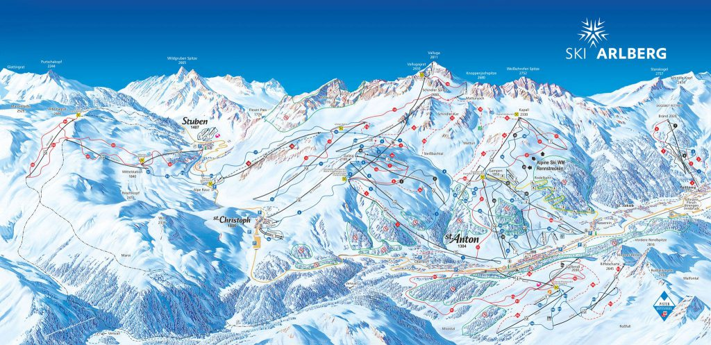 St_Anton_am_Arlberg_Piste_Map