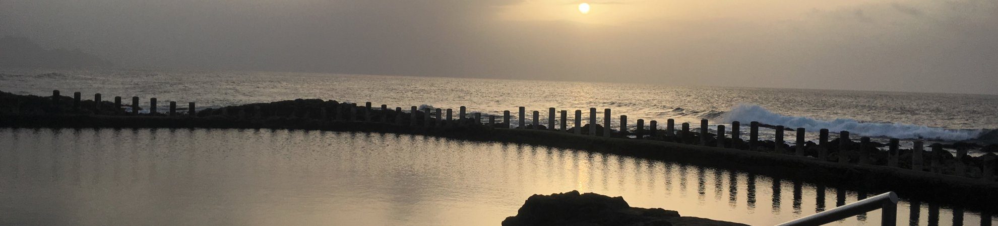 Gran Canaria Activities Sunset over the salt pools in Agaete