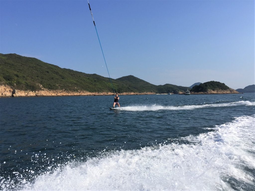 Adventure activities hong kong Wakebaording