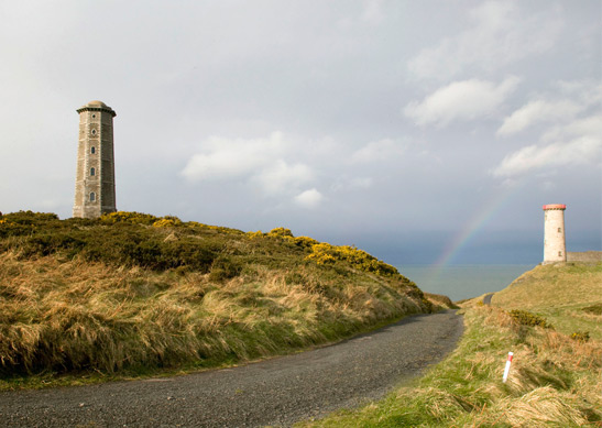 Wicklow lighthouse coolest airbnbs in Ireland