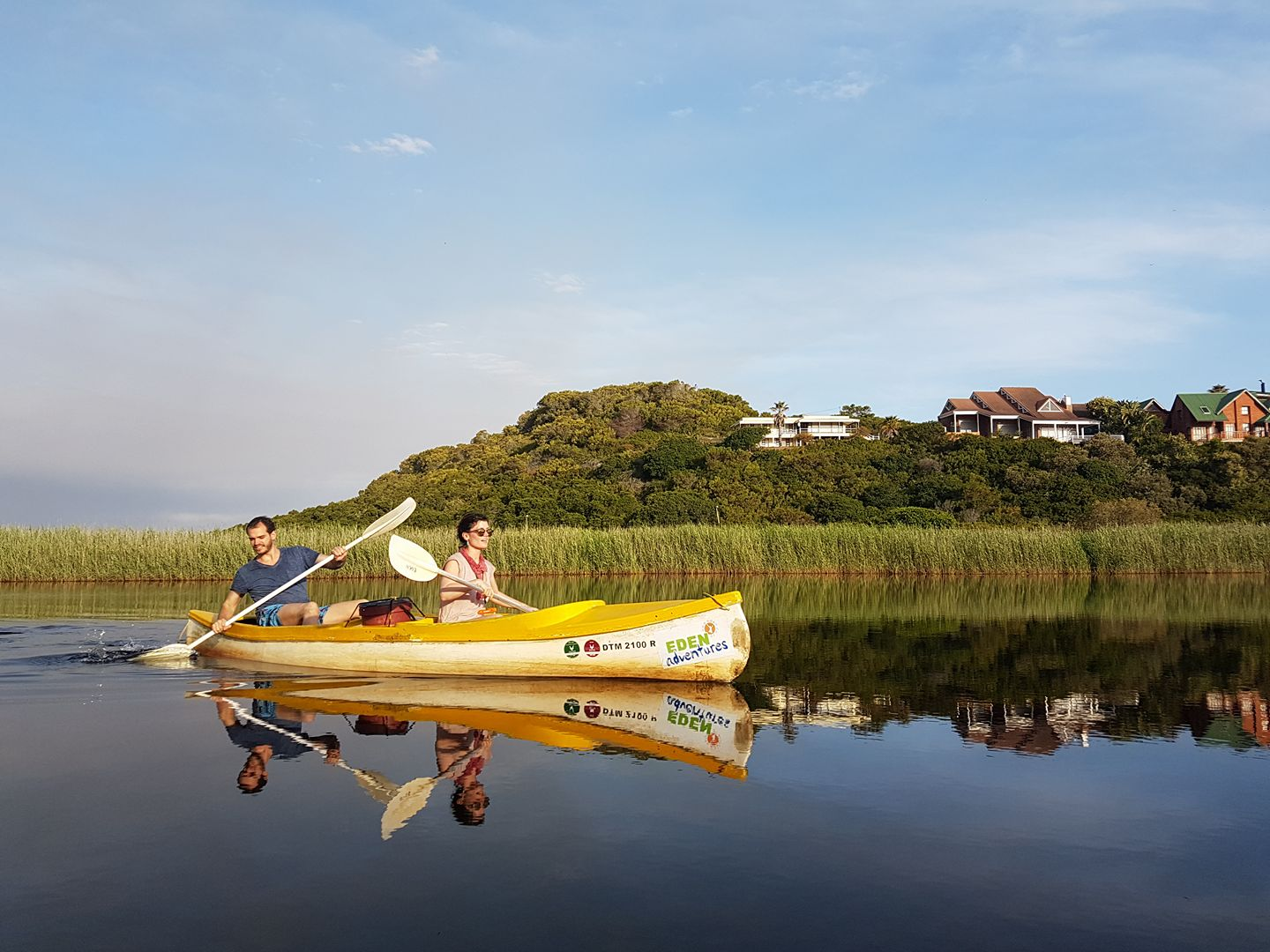 Garden route adventures canoeing Wilderness