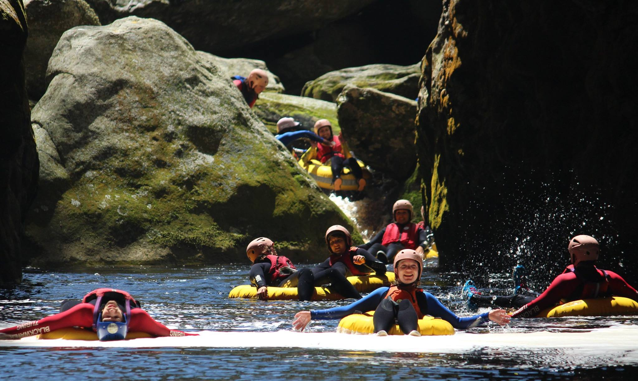 adventures on the garden route blackwater tubing