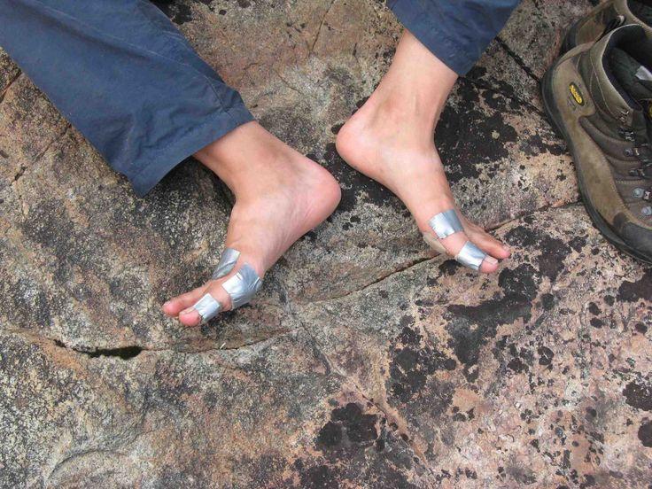 gaffer tape for blisters