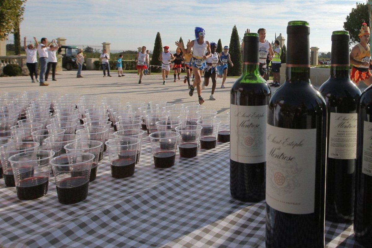 worlds quirkiest events medoc marathon