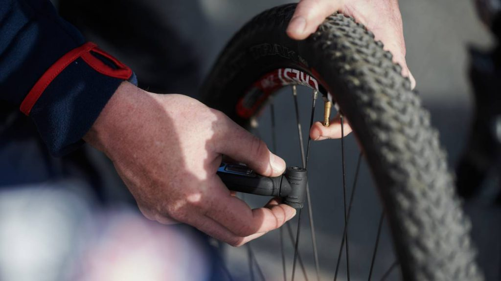biking skills for adventure races pump up tyres british cycling
