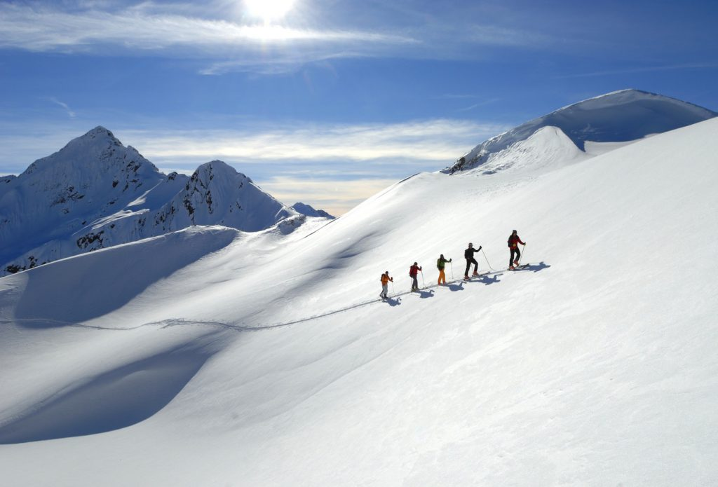 st anton ski mountaineering