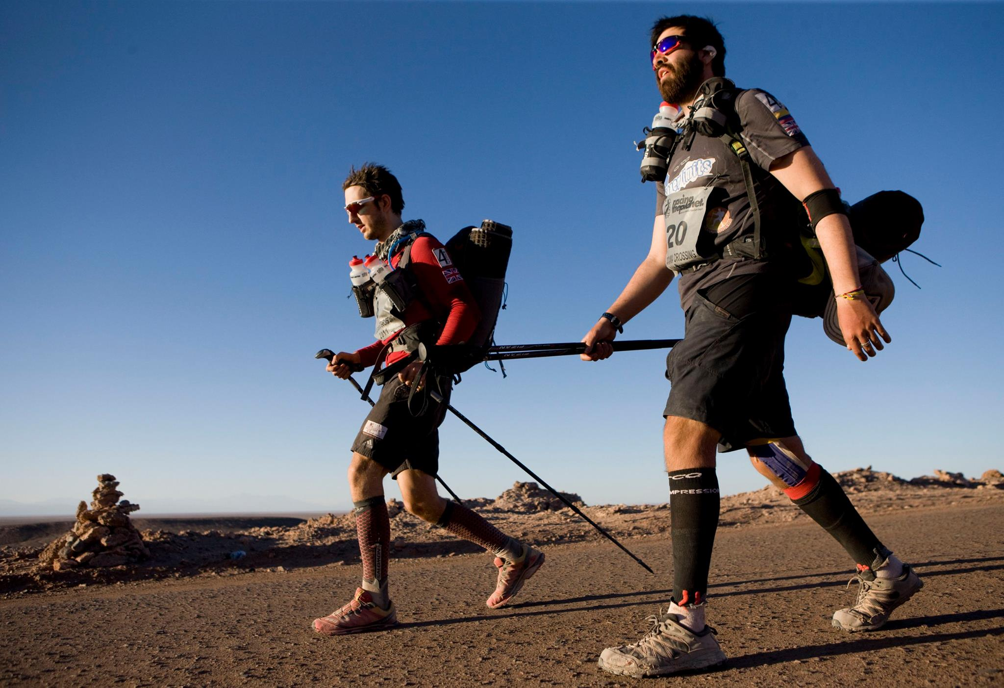 train with pack on multi day running races