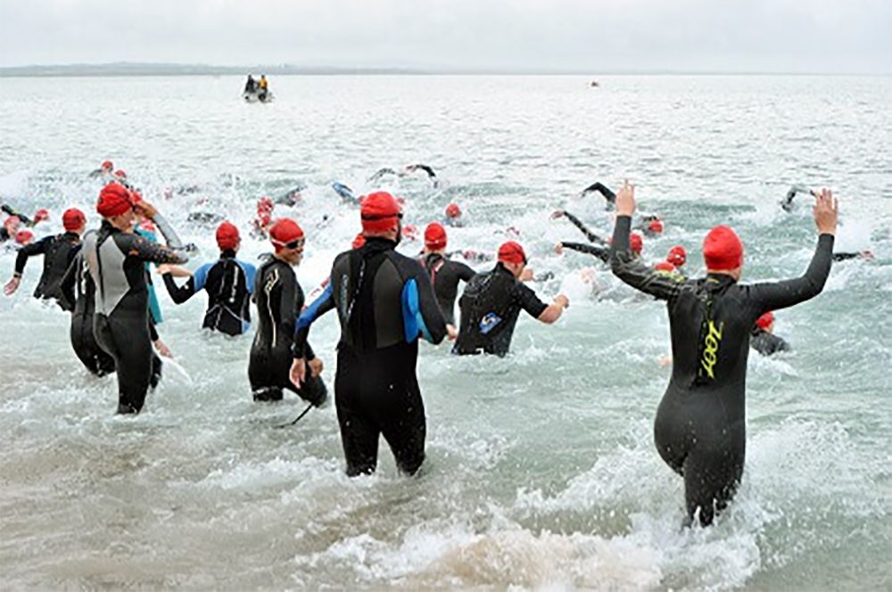 best triathlons in Ireland for beginners tri the hook