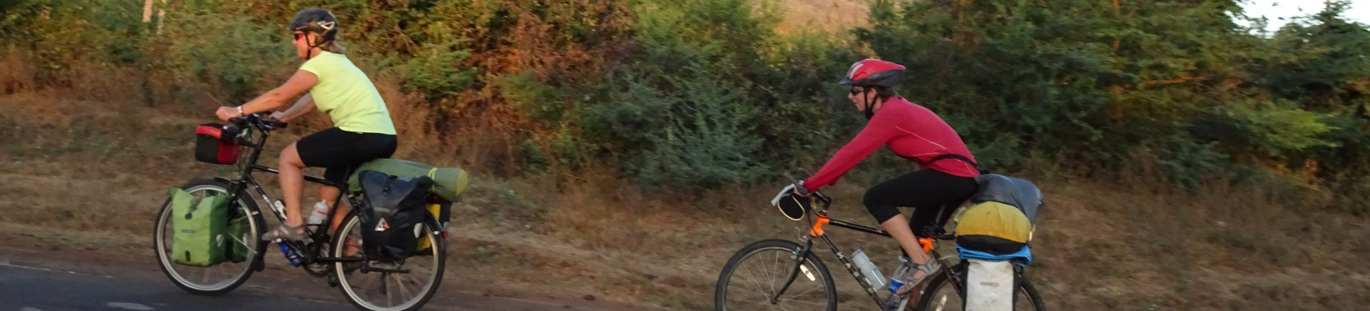 Meet the Woman who is pedalling her way around the globe