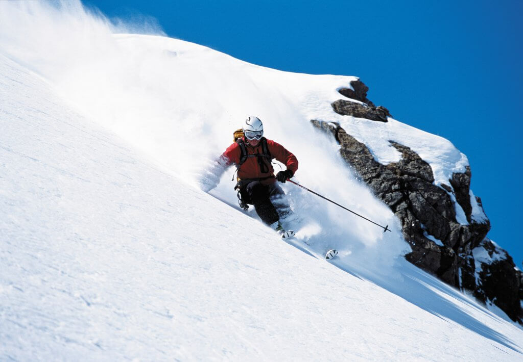ALternative ski holidays off piste ski camps