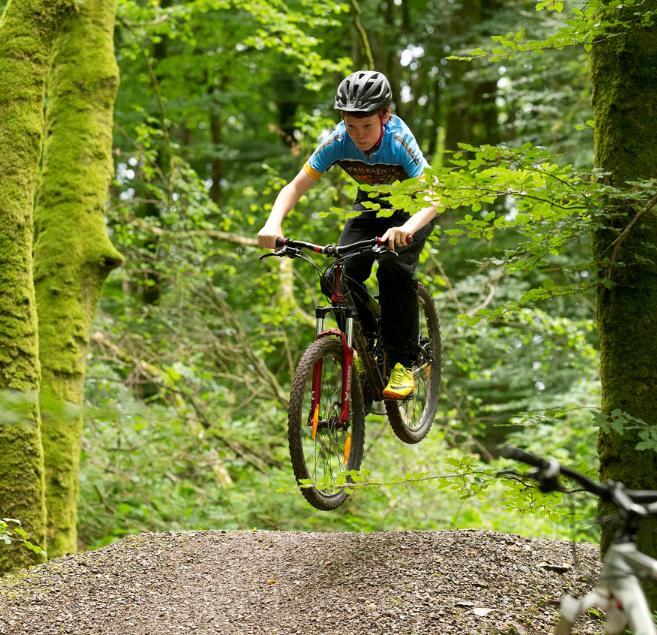 blessingborne mountain bike trails