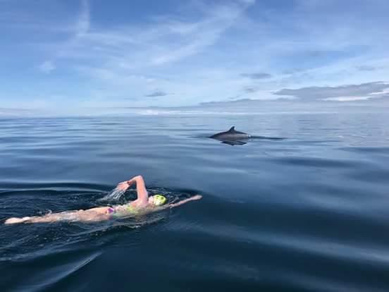 Carmel Collins North Channel Swim